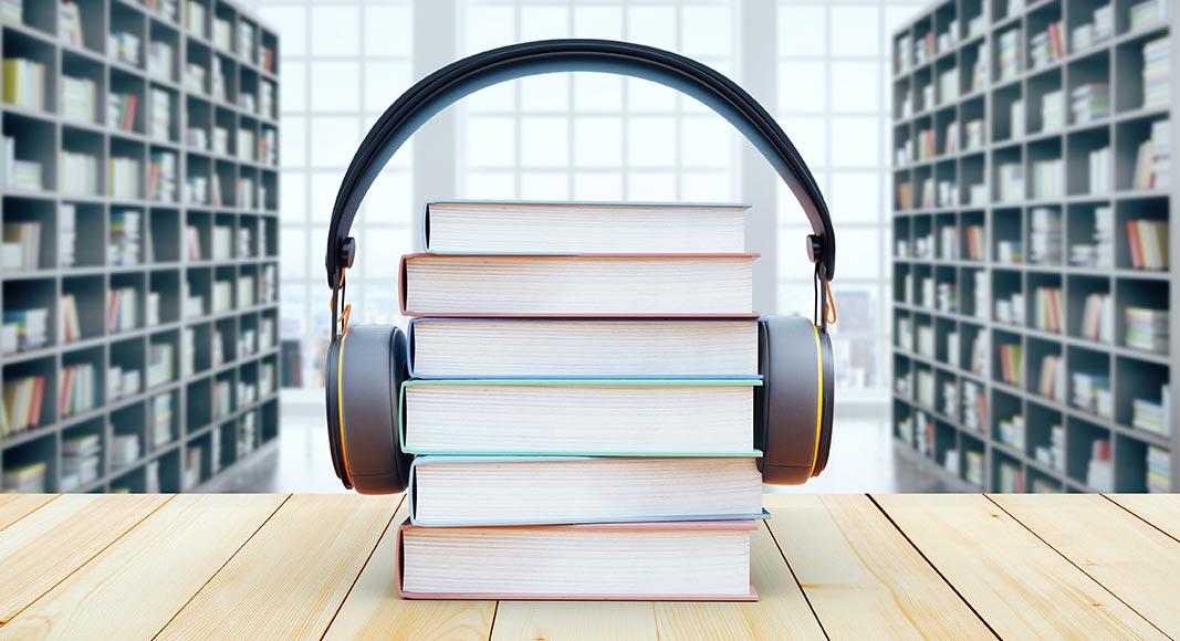 Nyd lyden af en god lydbog